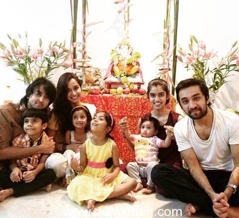 Shraddha Kapoor Celebrates Ganesh Chaturthi with Family