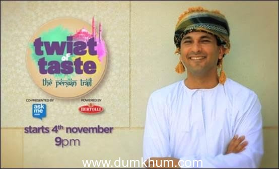 Vikas Khanna goes international on the all new season of Twist of Taste – The Persian Trail only on FOX Life