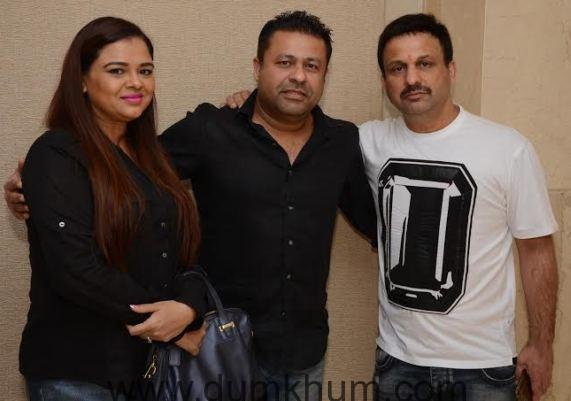 Actress and writer gulfam khan alongwith Vikrant urval