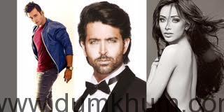 Aditya Singh Rajput, Hrithik Roshan , Angela Krislinzki (1)