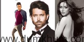 Aditya Singh Rajput, Hrithik Roshan , Angela Krislinzki