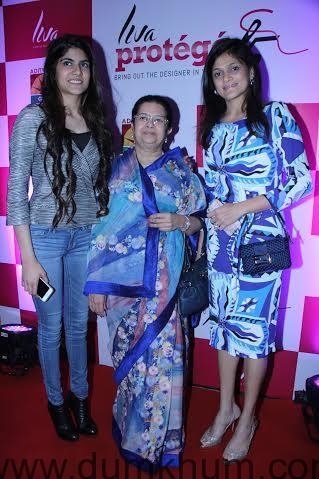 Ananyashree, Rajashree and Neerja Birla