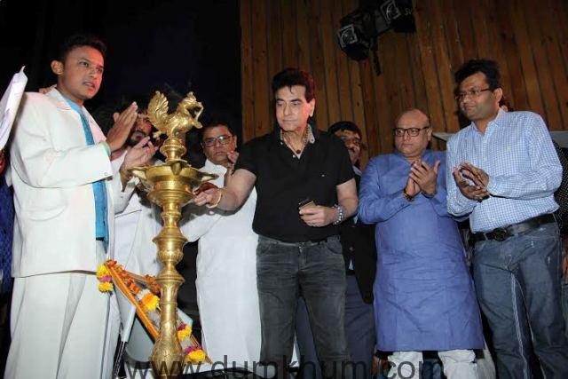 .Aneel Murarka, Actor Jeetendra and Manoj Joshi lamp lighting