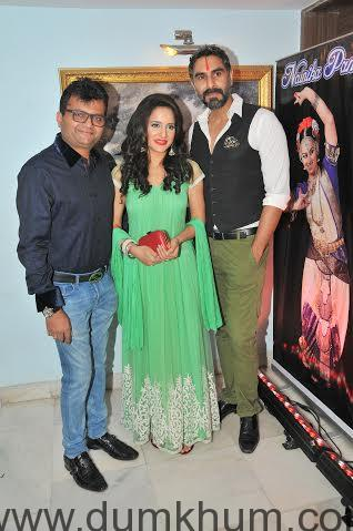 Aneel Murarka, with Shweta Khanduri and Sandip Soparkar