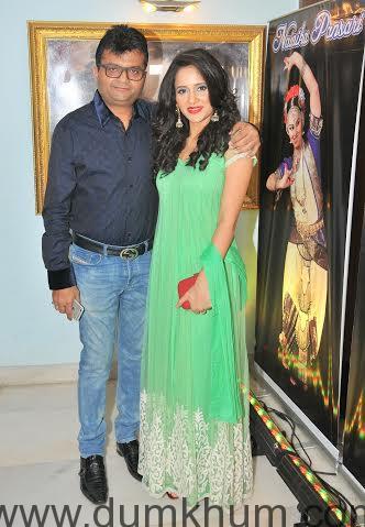 Aneel Murarka with Shweta Khanduri
