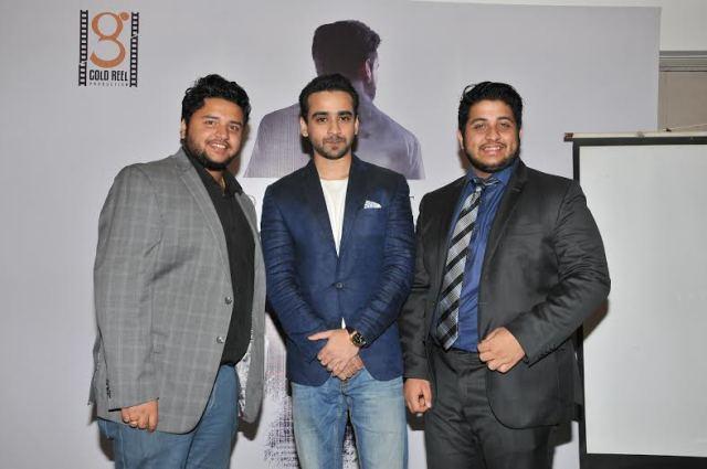 Anirban Aditya with Actor Shamaun Ahmed and Ankit Aditya