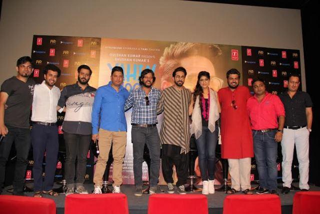 Bharat Goel, Gurpreet Saini, Ajay Kapoor, Bhushan Kumar, Amit Roy, Ayushmann Khurrana, Tahira Kashyap, Gautam Govind Sharma, Vinod Bhanushali.