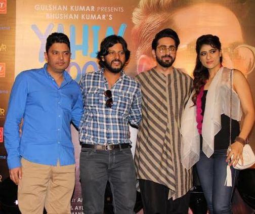 Bhushan Kumar, Amit Roy, Ayushmann Khurrana, Tahira Kashyap -
