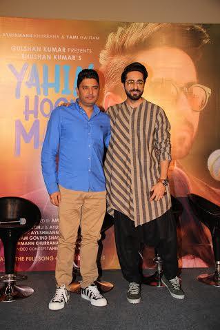 Bhushan Kumar, Ayushmann Khurrana.