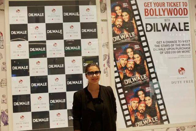 Dilwale Team at Mumbai Duty Free (