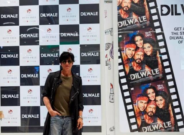Dilwale Team at Mumbai Duty Free (6