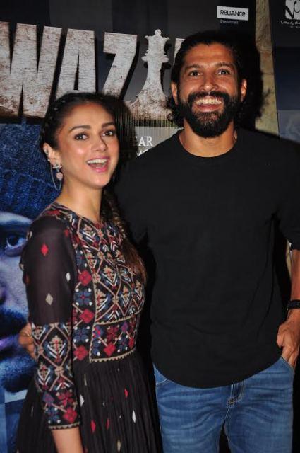 Farhan Akhtar and Aditi Rao Hydari