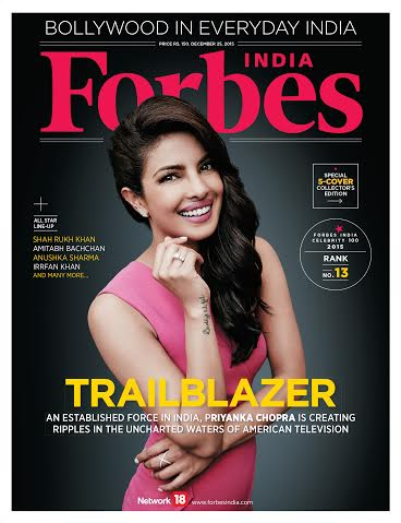 Forbes India Cover_Priyanka