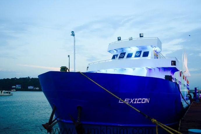 "NEW YEARS BASH AT ""LA LEXICON"" CRUISE SHIP GOA"
