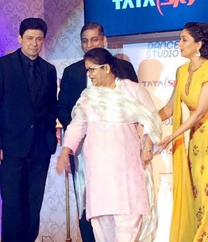 Madhuri Dixit Dr. Nene & Saroj Khan