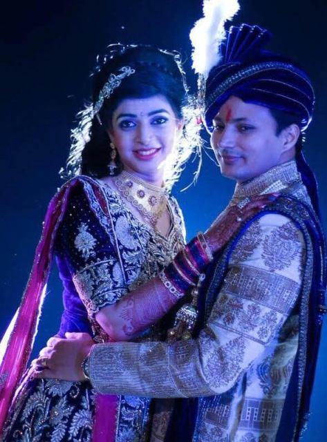 Nandan jha wedding pictures