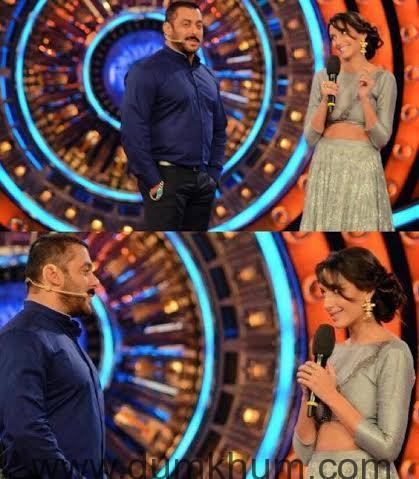 Nora Fatehi with Salman Khan