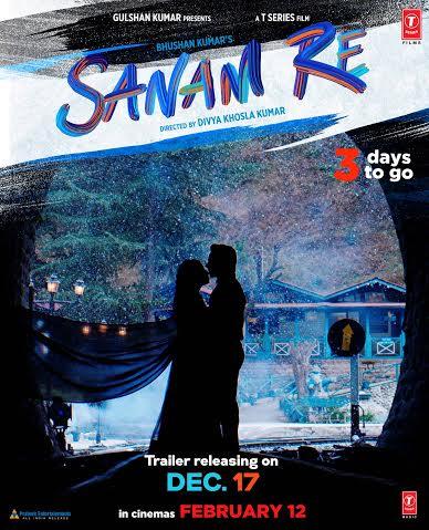 Poster of Divya Khosla Kumar's next - Sanam Re