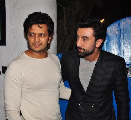 Ranbir Kapoor & Riteish
