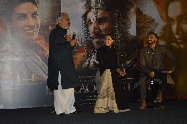 Sanjay Leela Bhansali is happy to introduce to audiences his longstanding dream, Bajirao Mastani, starring Ranveer Singh, Deepika Padukone & Priyanka Chopra among others.