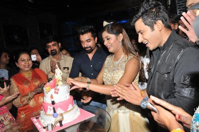 Sejal Mandavia celebrating her Birthday