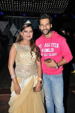Sejal Mandavia with Umesh Pherwani