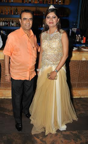 Sejal Mandavia with Yogesh Lakhani