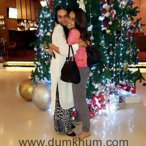 Shraddha Kapoor Celebrates Christmas with her mother in Bangkok