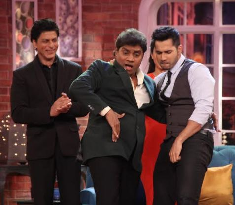 Team Dilwale on the sets of Comedy Nights With Kapil (14)