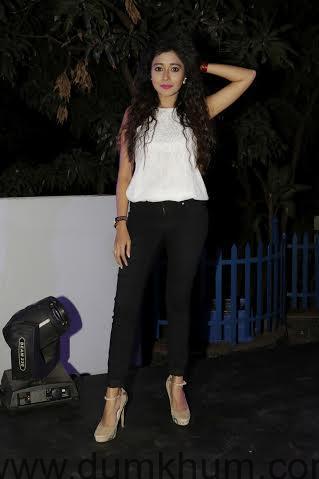 Tina Dutta @ the launch of SBUYS Telly Calendar 2016