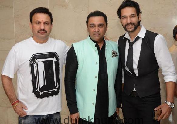 Vikrant Urval (director IITC),Ashley Rebello and Umesh Pherwani