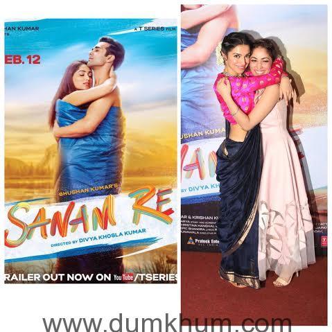 Yami Gautam & Divya Khosla Kumar hug it out at Arijit Singh's concert!