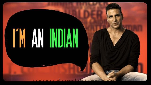 AKSHAY KUMAR PAYS A TRIBUTE TO UNSUNG HEROES THROUGH BEING INDIAN'S LATEST VIDEO - I'M AN INDIAN