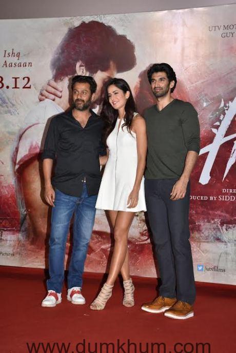 Abhishek Kapoor & katrina & Aditya