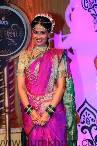 Chhavi Mittal as Tulsi at the launch of COLORS' Krishndasi.