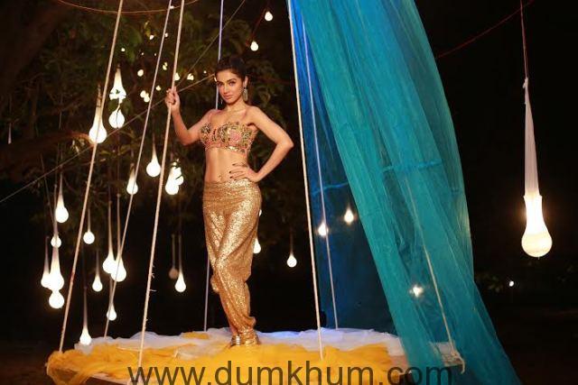 Divya Khosla Kumar in a dance song in her own film Sanam Re-