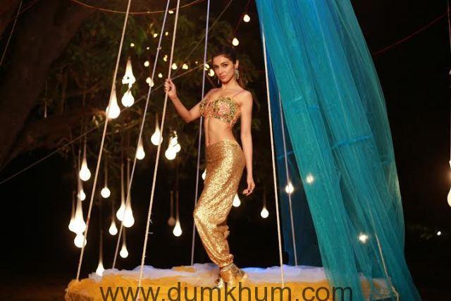 Divya Khosla Kumar in a dance song in her own film Sanam Re-2
