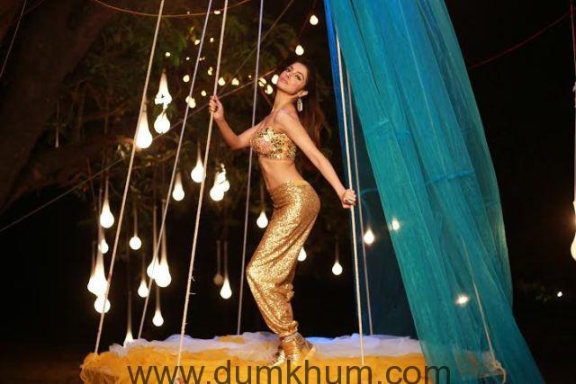 Divya Khosla Kumar in a dance song in her own film Sanam Re-3