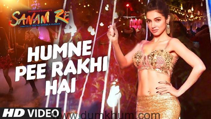 Divya Khosla Kumar in a dance song in her own film Sanam Re-4