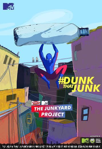 Dunk That Junk- Spiderman