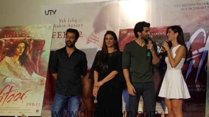 Fitoor's trailer features three pivotal characters namely Noor (Aditya), Firdaus (Katrina) and Begum (Tabu)-