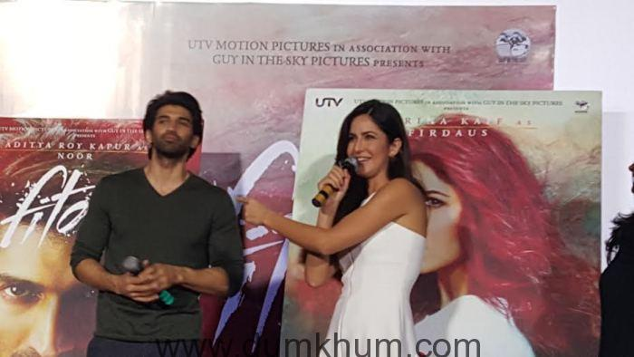 Fitoor's trailer features three pivotal characters namely Noor (Aditya), Firdaus (Katrina)