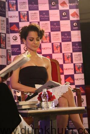 Kangana Ranaut attends Barkha Dutt book launch 3