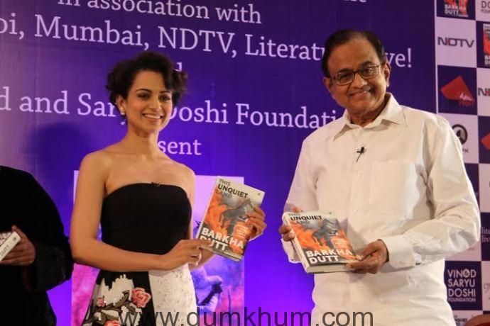 Kangana Ranaut attends Barkha Dutt book launch 4