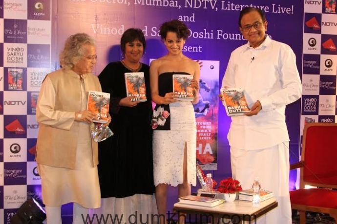 Kangana Ranaut attends Barkha Dutt book launch 5