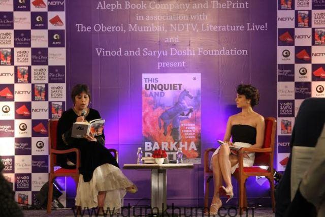 Kangana Ranaut attends Barkha Dutt book launch 8