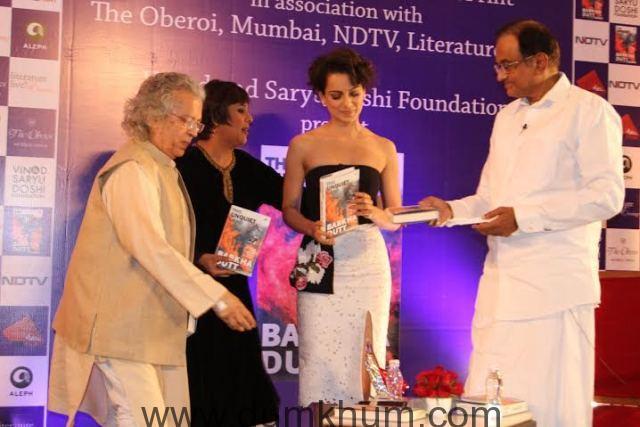Kangana Ranaut attends Barkha Dutt book launch 9