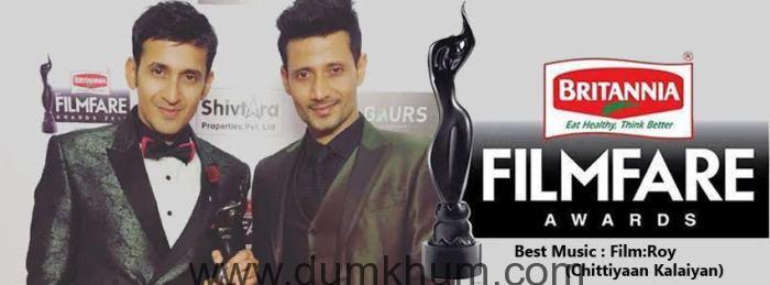 Meet Bros Bring Home 61st Britannia Filmfare Award For Best Music For Roy
