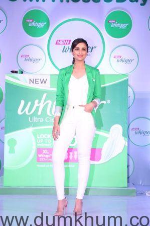 Parineeti Chopra Urges Women to Ownthose5days