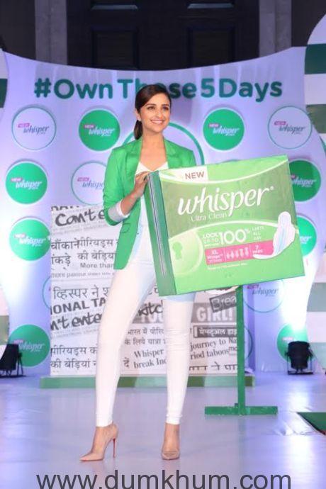 Parineeti Chopra Urges Women to #Ownthose5days